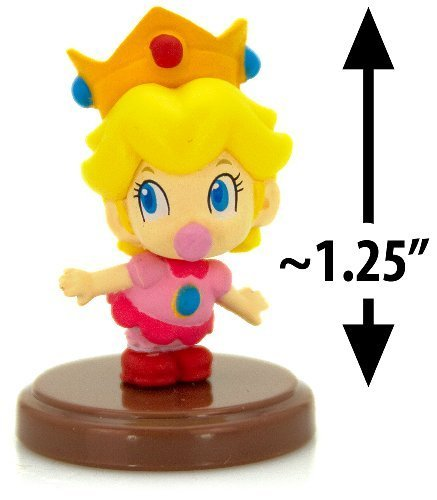 Furuta SUPER MARIO MINI FIGUREN BABY PEACH (3CM Mini Figure)