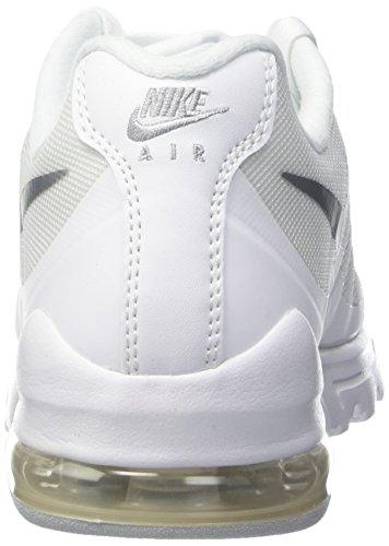 Nike - Wmns Air Max Invigor, Scarpe da corsa Donna Bianco (White/metallic Silver)