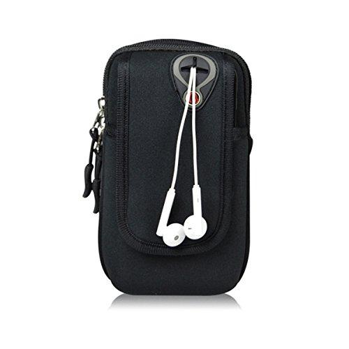 Bawar Armtasche Sport Armband Hülle Arm Tasche Handy Schlüssel Halter Outdoor Rennen Sportarmband - Ipod Wasserdichte Armband Nano