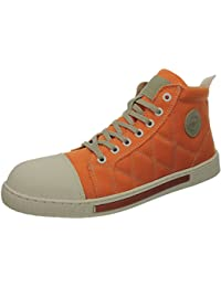 Hi-Tec Faro ST, calzado deportivo para hombre, color blanco y naranja Naranja Size: 42