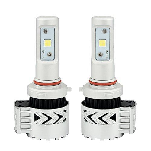 Haco-2-Stck-Scheinwerfer-Komplettsets-H4-Zweistrahl-72W-12000Lm-LED-Scheinwerfer-Wei