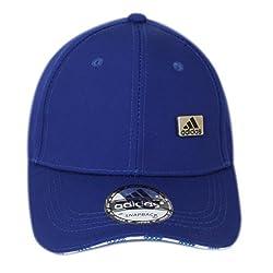 Adidas Mens Womens Cap Black Sports Cap Baseball Cap Summer -Royal Blue Color