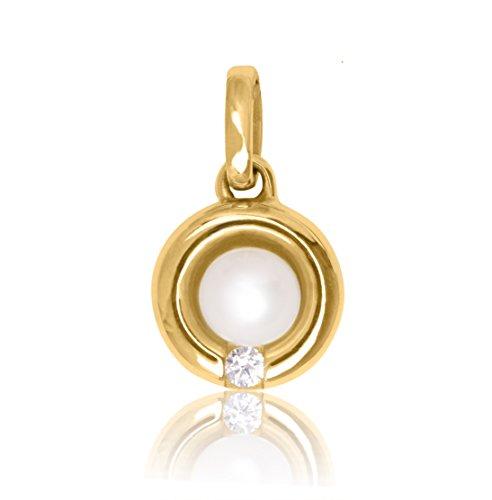 MyGold Perlen Anhänger (Ohne Kette) Gelbgold 333
