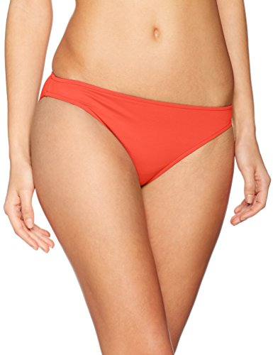 Seafolly Damen Bikinihose Retro Pant Rot (Sienna)