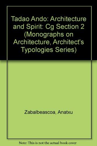 Arquitectura y espiritu: Cg Section 2 (Monographs on Architecture, Architect's Typologies Series)