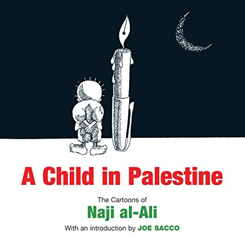 Child in Palestine por Naji Al-Ali
