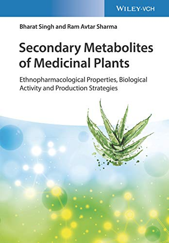 Secondary Metabolites of Medicinal Plants: Ethnopharmacological Properties, Biological Activity and Production Strategies