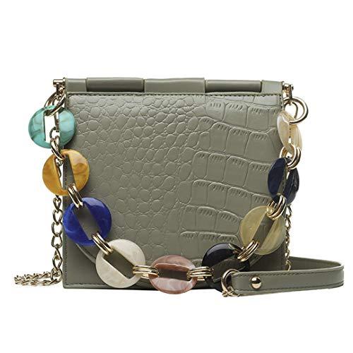 Kenneth Cole Designer-handtasche (Frauen Taschen Designer New Pu Leder Frauen Tote Bag Alligator Schulter Crossbody Taschen Green)