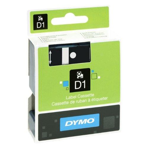 Preisvergleich Produktbild 9mm für DYMO LabelManager PNP, Schwarz auf Transparent, Beschriftungsband, Schriftband-Kassette für Label Manager PnP PC, Farbband, 7mtr.