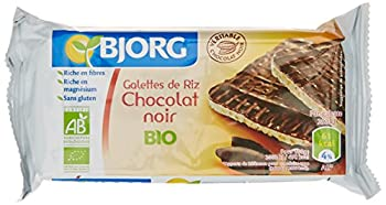 Bjorg Fines Galettes Riz Chocolat Noir Bio 100 g