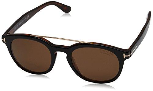 Tom Ford Unisex-Erwachsene FT0515 05H 53 Sonnenbrille, Schwarz (Nero),