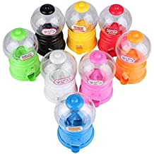 Snner Niños de Juguete automático Mini Caramelo de Gumball de la Burbuja dispensador de Monedas del
