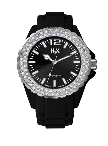H2X REEF Lady Clear Stones SS382DN1 - Orologio da polso Donna