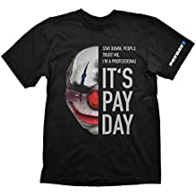 Payday 2 T-Shirt Chains Mask, X-Large (Electronic Games) [Importación Inglesa]