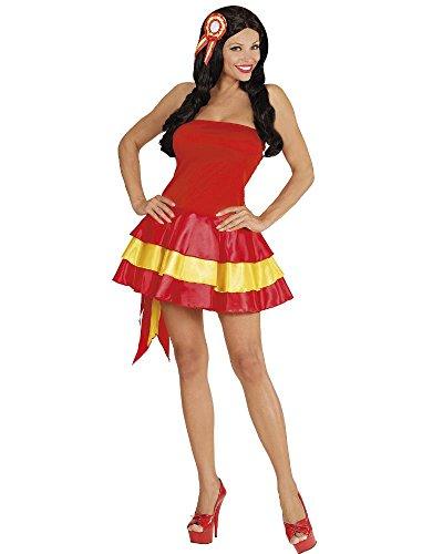 Karneval Kostüm Frau Fräulein National Dress Soccer PS 10005 (Large, ()
