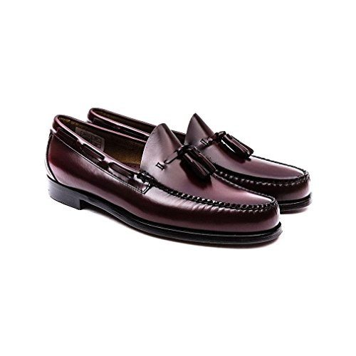 G. H. Bass Mens Weejuns Larkin Moc Tassle Leather Shoes Wine