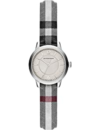 Ladies Burberry el clásico redondo Horseferry Check reloj bu10200