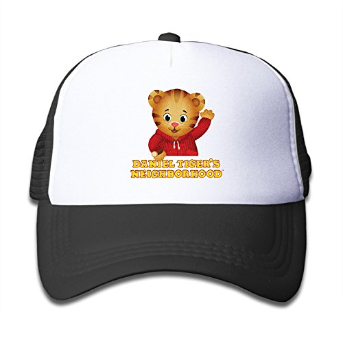 Kids Daniel Tiger's Neighborhood 100% Nylon Mesh Caps One Size Fits Most Adjustable Cool Baseball Caps -