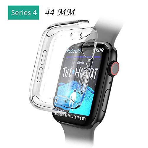Y56 Protector Cover Hülle für Apple Watch Series 4 44MM Weicher Ultra-dünner klarer TPU schützen Fall-Abdeckung Shell Kasten Protector Case