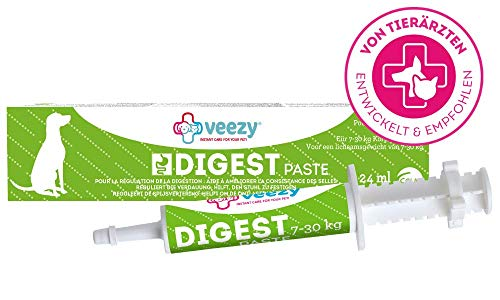 veezy Digest Paste für Hunde - Darmsanierung & Präbiotikum, 1er Pack (1 x 24 milliliters)