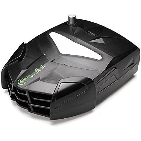 Pink Lizard Cooler wang zt-x7 aria forte raffreddamento aspiratore ventilatore 4500rpm 5v / 9v pulsante regolabile 3.6W dc raffreddamento