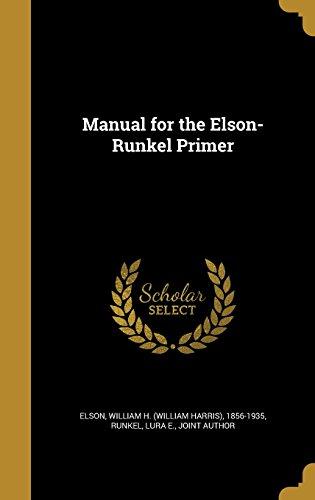 manual-for-the-elson-runkel-primer