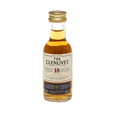 Glenlivet 18 year old Single Malt Scotch Whisky 5cl Miniature from Glenlivet