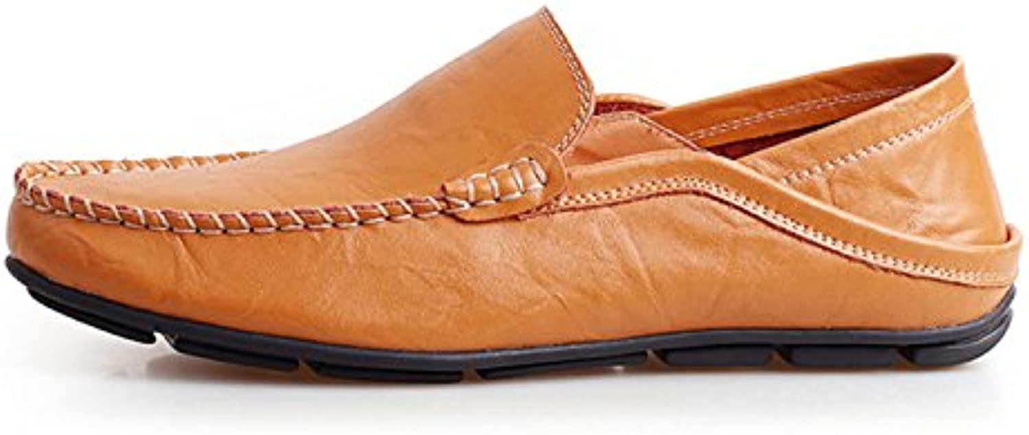 Fashion Casual Driving Shoes Genuine Leather Loafers Men Shoes Men Loafers Luxury Flats Shoes