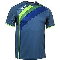Joma Elite V Camiseta, Unisex Adulto, Azul Marino, M