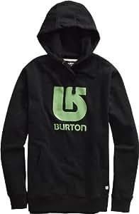 Burton Herren Kapuzenpullover Logo Vertical Fleece, true black, XL, 267423