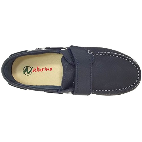 Naturino 3094, Chaussure basse mixte enfant bleu foncé (bleu)