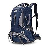 HENDTOR 30L Leichte Wasserfeste Rucksäcke Klettern Camping Wandern Rucksack Outdoor Sporttasche Rucksäcke Purplish Blue