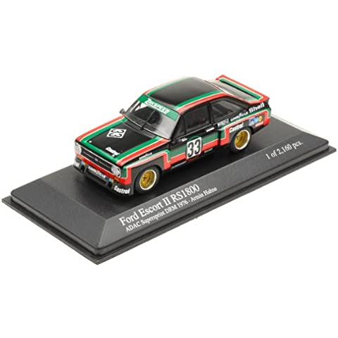 Minichamps - 400768433 - Miniature veicoli - Ford Escort RS 1800 A II Hahne DRM Supersprint 1976 - Scala 1:43