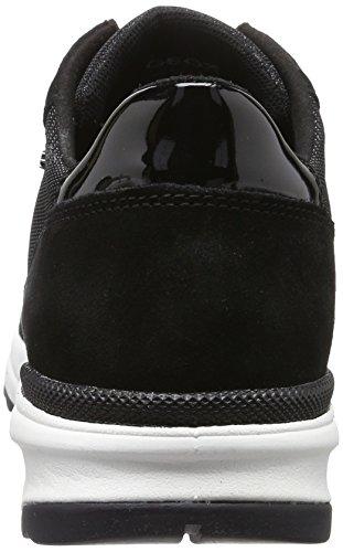 Geox D Airell B, Sneakers Basses Femme Noir (Blackc9997)