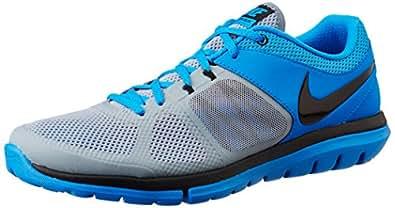 Nike Men's Flex 2014 Rn Msl Magnet Grey,Black,Photo Blue  Running Shoes -10 UK/India (45 EU)(11 US)