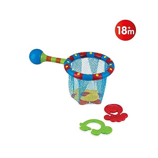 Nuby Splash N' Catch Fishing Set Bath Toy, Multi 1