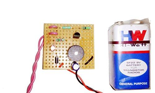 pke Fire - Rain Alarm Circuit Project (Combo)