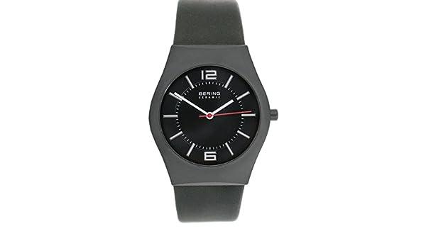 Bering Unisex Uhr 32035 Slim 642 Ceramic Armbanduhr LederAmazon POkZuiXT