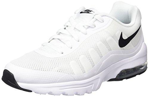 Nike Herren Air Max Invigor Laufschuhe, Weiß (White/Black 100), 49.5 EU -