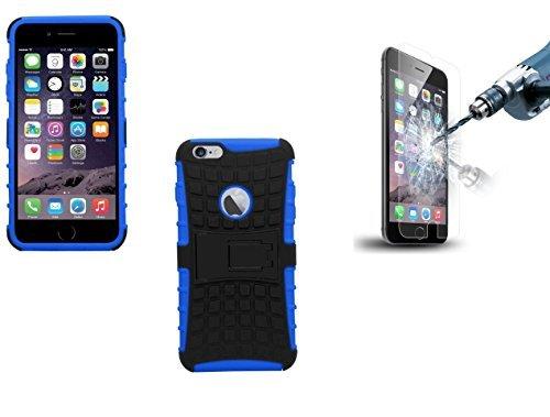Deet Stoßfeste Schutzetui mit Premium Displayschutzfolie, für Apple iPhone 6/6S, 11,9cm, Blau (Pelican Pelican Protector Case)