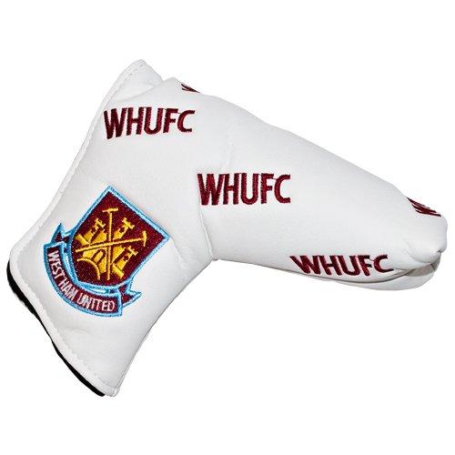 West Ham United Schlägerhaube für Putter, Weiß, Bordeauxrot, Blau
