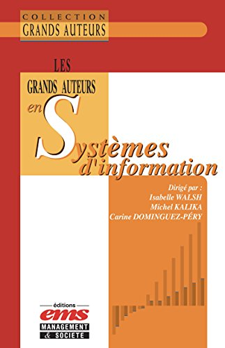 Les grands auteurs en systèmes d'information par Carine Dominguez-Péry