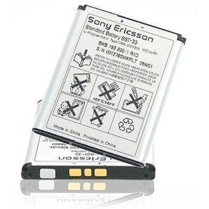 Sony Ericsson Original Akku BST-33 K550i K800i K810i M600i M608i V800i W300i W610i W660i W830i W850i W890i W900i W950i Z530i Z610i Z800 (Sony P1i)