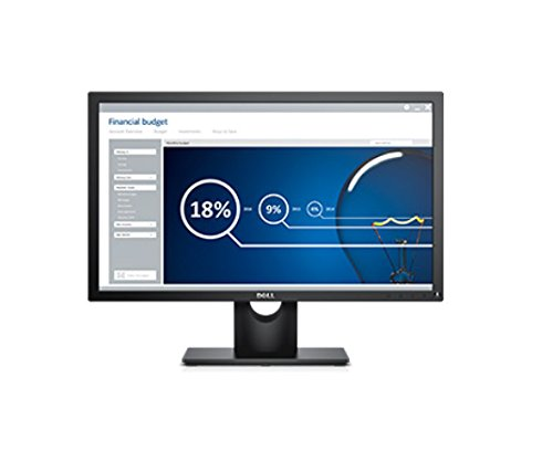 Dell E2316H 23-Inch Monitor - Black (1000:1, 250cd/m, 5ms, 1920 x 1080, VGA/DisplayPort)