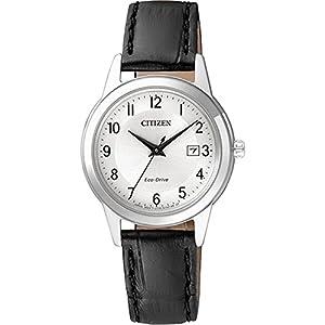 Citizen Damen Analog Quarz Uhr mit Leder Armband FE1081-08A