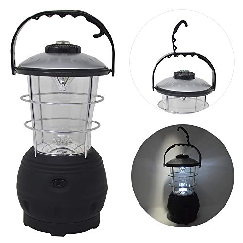 Campinglampe 12 LED Dynamolampe Kurbellampe Zeltlampe Aufziehlaterne Lampe Licht