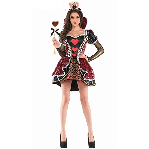 Fashion-Cos1 Costumes d'halloween Femmes Cosplay Femme Pêche Priness Reine Costume De Bal d'étape Performance Uniforme