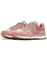 Zapatillas Nike Internationalist color rosa para mujer, de cuero y tela, mujer, Red Stardust/Red Startdust-Sail, EUR 37.5 US 6.5 UK 4