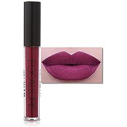 LHWY FOCALLURE le nouveau rouge à lèvres cosmétiques femmes Party lèvres Matte Lip Gloss
