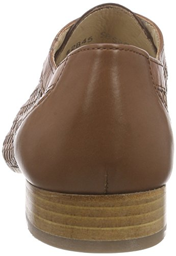 Lottusse S8599-10194-01, Oxfords femme Beige - Beige (SUMMER BRIGHT CUERO)